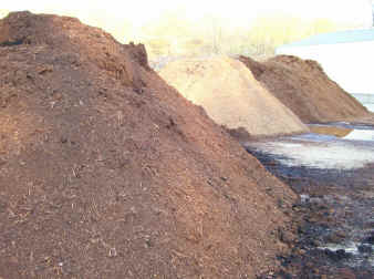 free mulch delivery, hardwood mulch